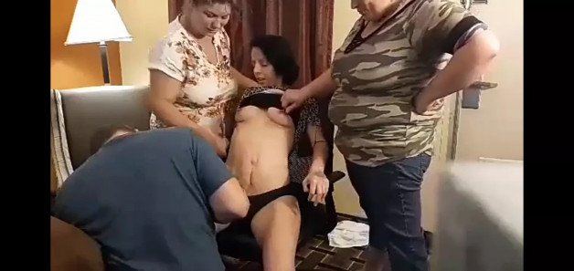 one my homegirls in the chair and her mom eager to help-  Photo in topic Mother Daughter Incest by BiPrince1994