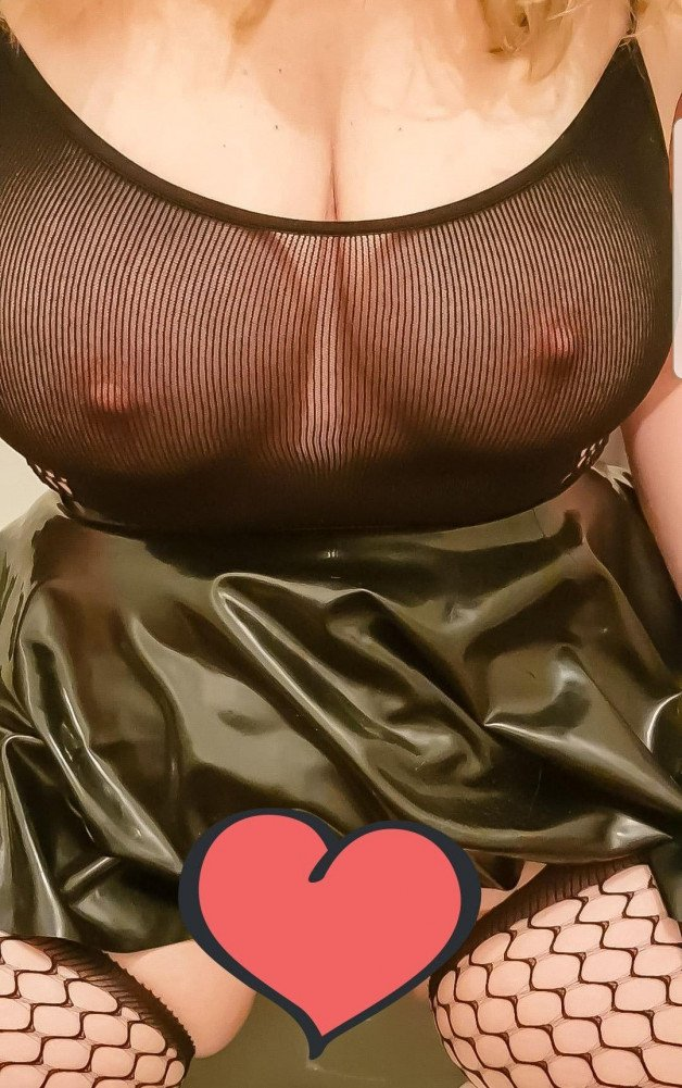 Just me in a little Latex and Bodystocking outfit, getting...